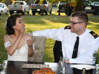 La boda de Candelaria  y Dylan