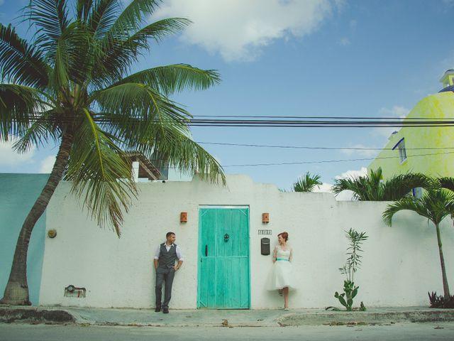 La boda de Aaron y Alissa en Puerto Morelos, Quintana Roo 1