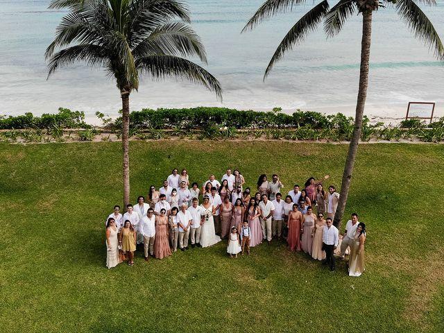 La boda de Alexandre y Karla en Puerto Morelos, Quintana Roo 7