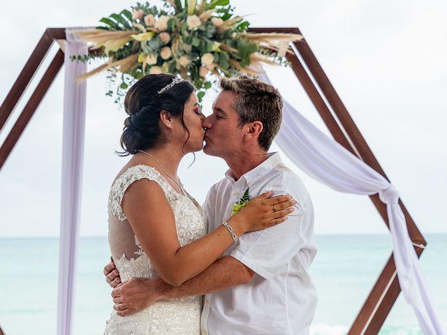 La boda de Alexandre y Karla en Puerto Morelos, Quintana Roo 9
