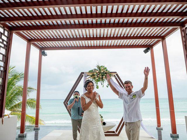 La boda de Alexandre y Karla en Puerto Morelos, Quintana Roo 18