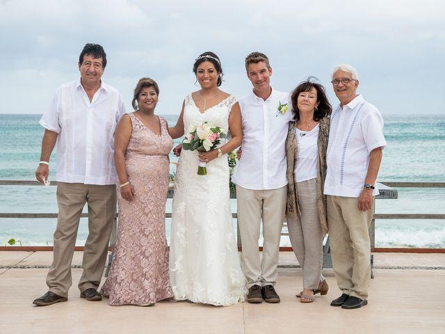 La boda de Alexandre y Karla en Puerto Morelos, Quintana Roo 21