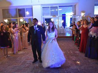 La boda de Magdiel y Linnet