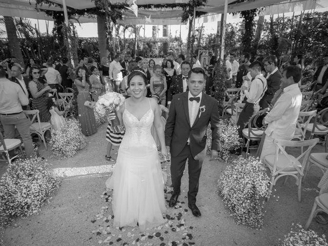 La boda de Naima y David