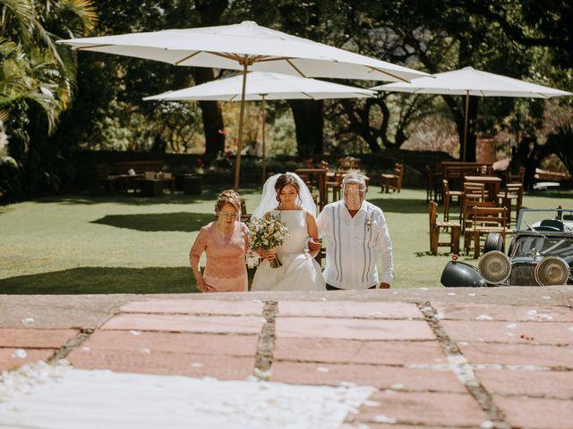 La boda de Alan y Mónica en Tepoztlán, Morelos 12