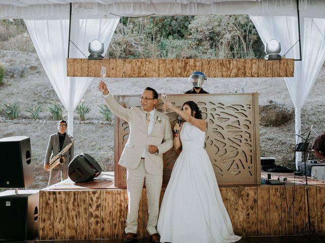La boda de Alan y Mónica en Tepoztlán, Morelos 32