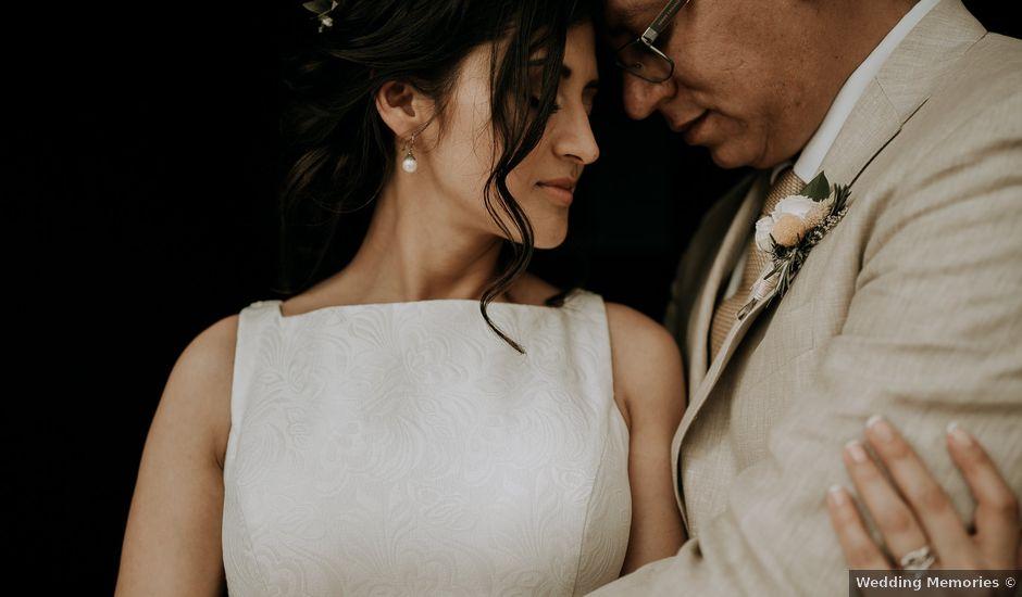 La boda de Alan y Mónica en Tepoztlán, Morelos