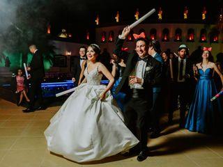 La boda de Larissa y Santos