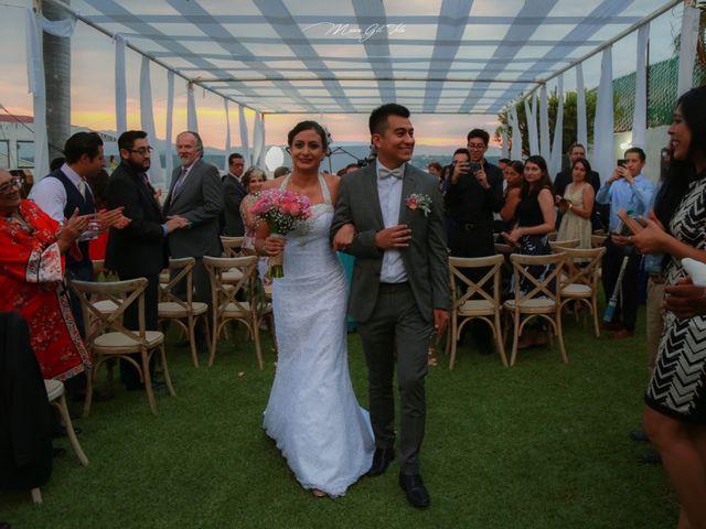 La boda de Marité y Luis