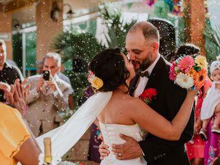 La boda de Roxana y Antonio