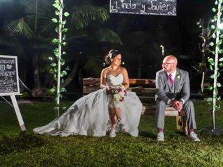 La boda de Linda y Javier