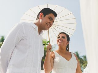 La boda de Angela y Andrés