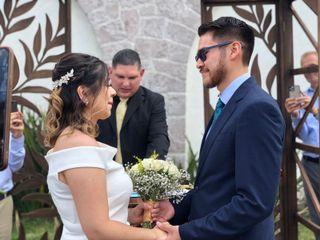 La boda de Abby y David