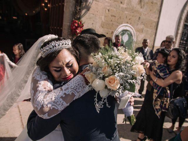 La boda de Marcos Humberto  y Andrea Alejandra  en Tlaquepaque, Jalisco 15