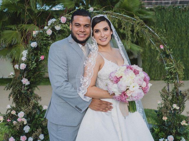 La boda de Viridiana  y Miguel Ángel