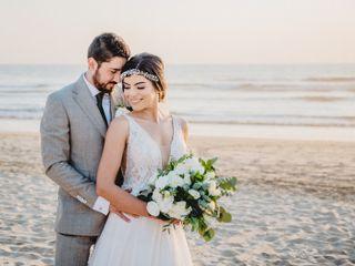 La boda de Greissy y Erick