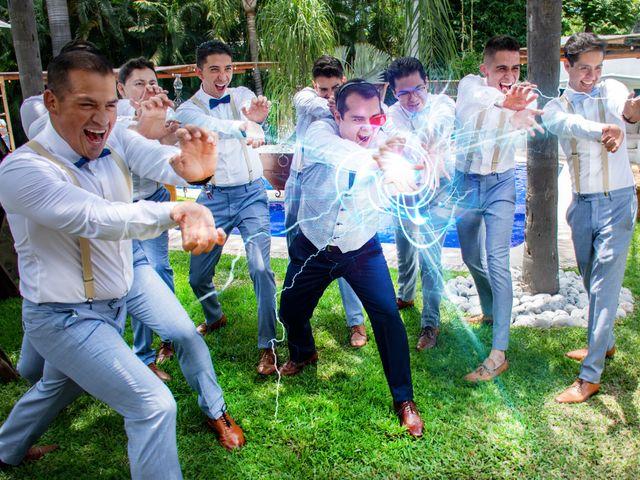 La boda de Héctor y Sara en Jiutepec, Morelos 27