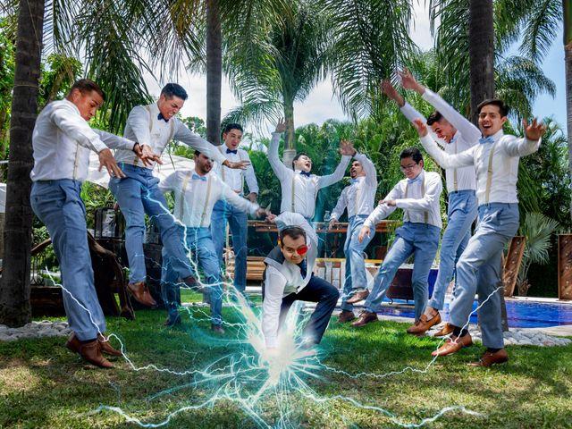 La boda de Héctor y Sara en Jiutepec, Morelos 28