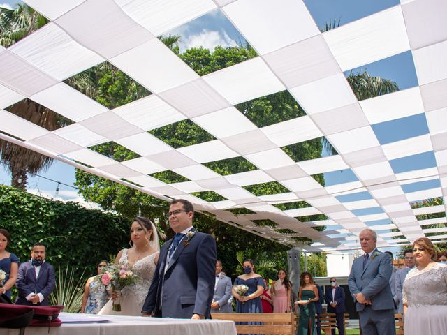 La boda de Héctor y Sara en Jiutepec, Morelos 41