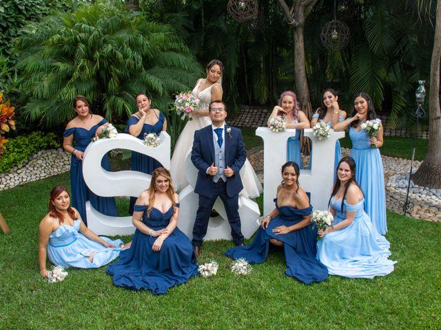 La boda de Héctor y Sara en Jiutepec, Morelos 48