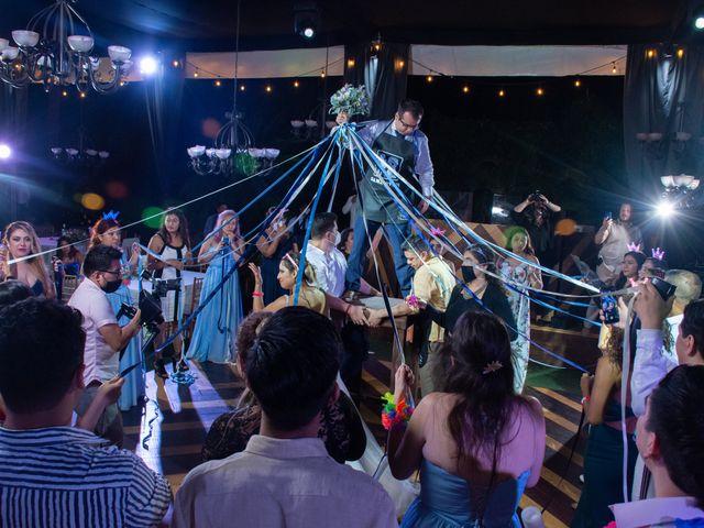 La boda de Héctor y Sara en Jiutepec, Morelos 84