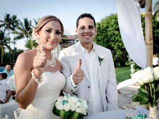 La boda de Angelica  y Jose De Jesus