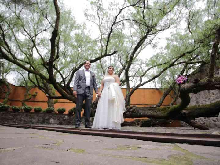 La boda de Triana y Mau