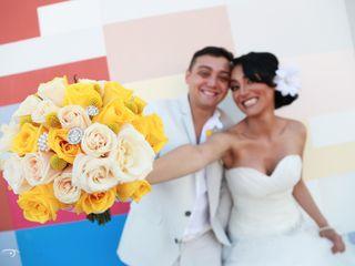 La boda de Luana y Andrés