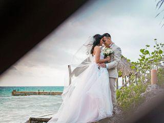 La boda de Ariadna Torres  y Gustavo González