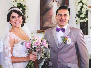 La boda de Kariam y Hibran
