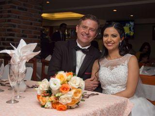 La boda de Fabiola y James