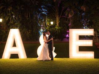 La boda de Anahí y Erick