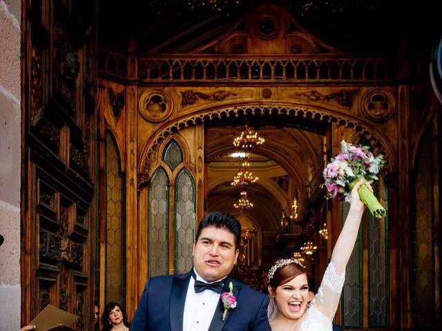 La boda de Luis y Samantha en Aguascalientes, Aguascalientes 11