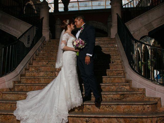 La boda de Luis y Samantha en Aguascalientes, Aguascalientes 13