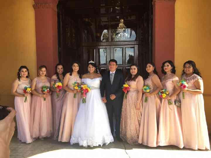 La boda de Carolina  y Antonino
