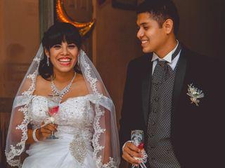 La boda de Kristal  y Carlos