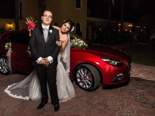 La boda de Viridiana y Iván