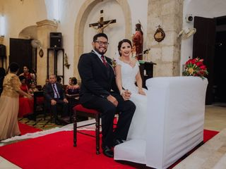 La boda de Elaine  y Abraham