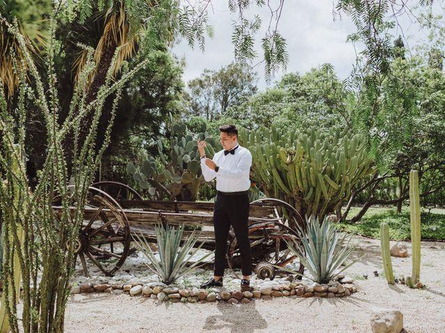La boda de Diego  y Shari  en Bernal, Querétaro 3