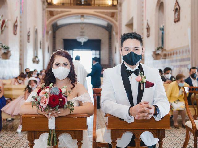 La boda de Diego  y Shari  en Bernal, Querétaro 5