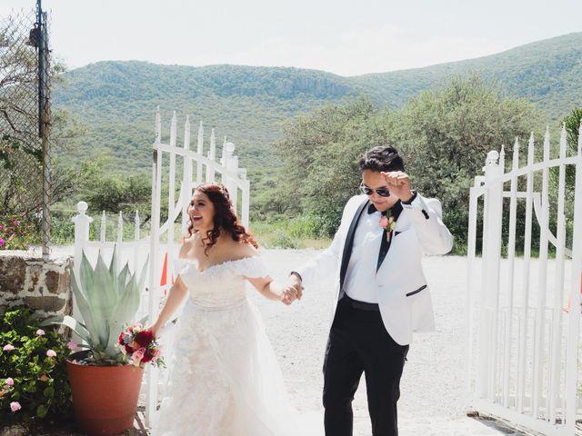 La boda de Diego  y Shari  en Bernal, Querétaro 6