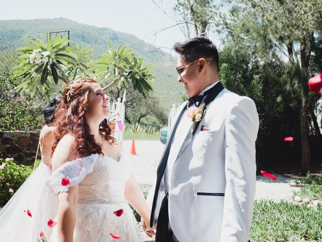 La boda de Diego  y Shari  en Bernal, Querétaro 7