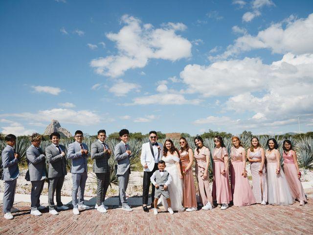 La boda de Diego  y Shari  en Bernal, Querétaro 8