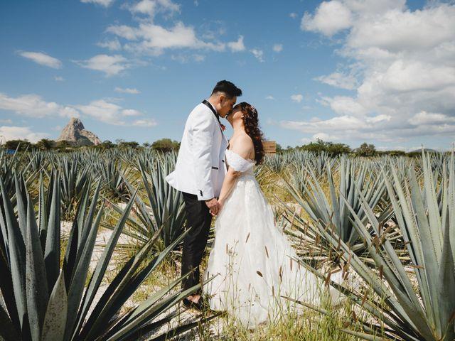 La boda de Diego  y Shari  en Bernal, Querétaro 9