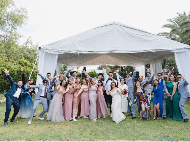 La boda de Diego  y Shari  en Bernal, Querétaro 14