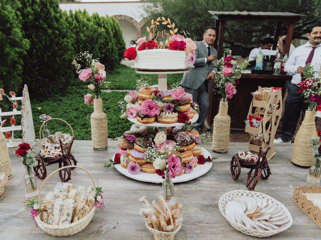 La boda de Diego  y Shari  en Bernal, Querétaro 20