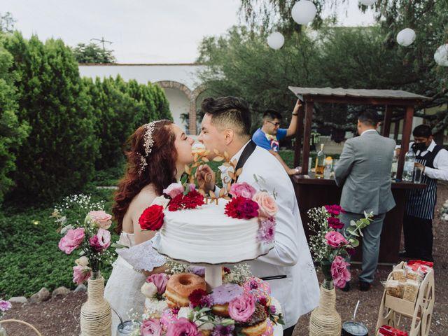 La boda de Diego  y Shari  en Bernal, Querétaro 21