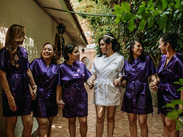 La boda de Alberto y Alejandra en Tepotzotlán, Estado México 11