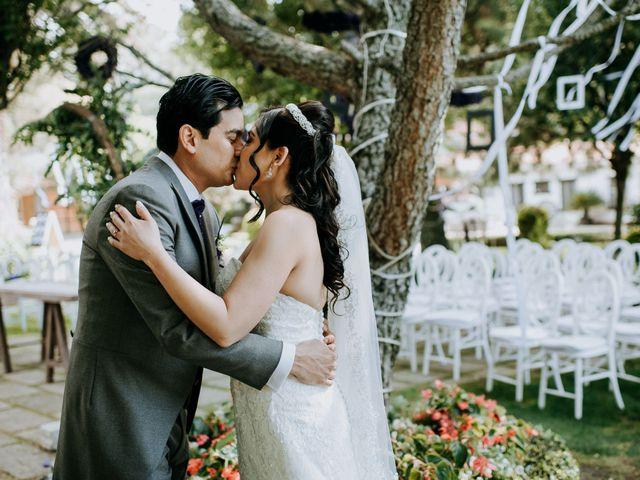 La boda de Alberto y Alejandra en Tepotzotlán, Estado México 24