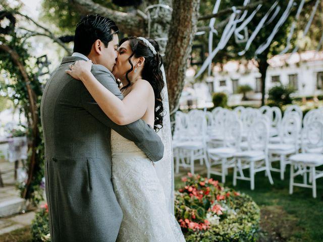 La boda de Alberto y Alejandra en Tepotzotlán, Estado México 25